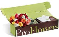 What woman doesn't like flowers.... I mean really. From 29.99 at Proflowers.com