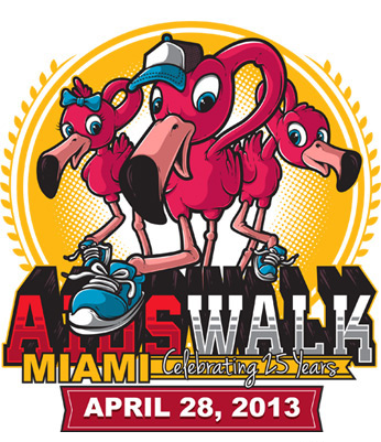 Gimme a Dollar! – 25th Annual AIDS Walk Miami