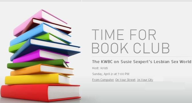 A Book Club is Born: The KWBC on Susie Sexpert's Lesbian Sex World by @susiebright