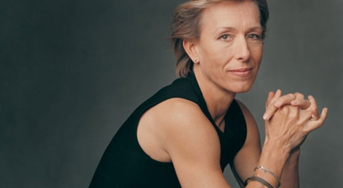 Something Like A Super Lesbian: @Martina Navratilova