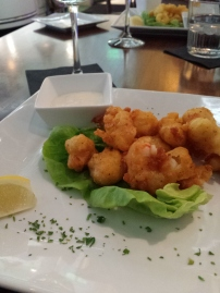 ROCK SHRIMP With chipotle dipping sauce