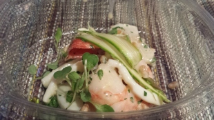 Truly Lux Seafood Salad