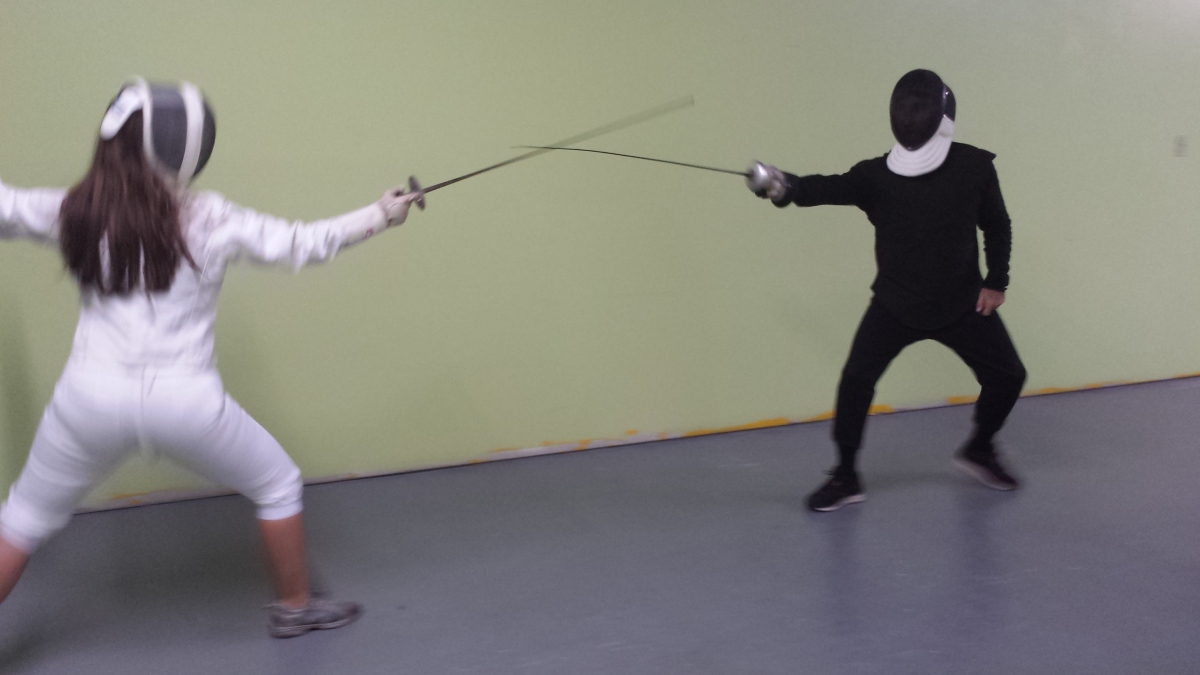 KLife: Fencing is Officially My Thing ... En Garde