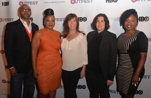 Executive Producer Sydney Hicks, actress/executive producer Mo'Nique, Outfest Executive Director Kirsten Schaffer, Outfest Director of Programming KP Pepe and Fusion Head Of Programming Taj Paxton