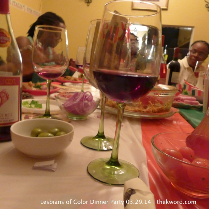 VIVA LOC: LESBIANS OF COLOR DINNER SERIES (MARCH) #LOC