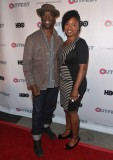 Actor Isaiah Wahington and Fusion Head of Programming Taj Paxton
