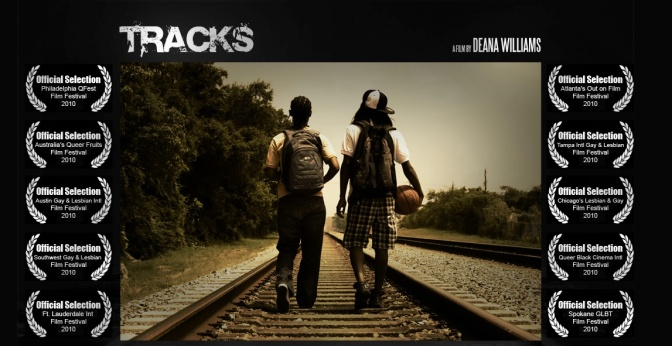 #SuperGayShorts Film Reviews:  Tracks directed by Deana Williams