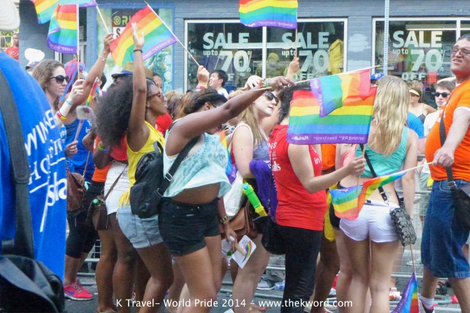 Out and About: World Pride 2014 – Toronto, ON (Gallery) #lgbt #lesbian