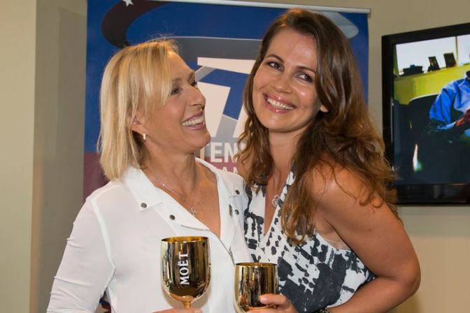 Congrats to Superlesbian the new Mrs. @Martina Navratilova