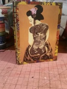 Geishas with Tattoos - SOLD