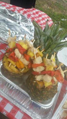 Chicken and Pineapple Skewars